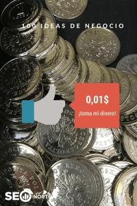 1 céntimo por cada gracias [Ideas de negocio 1 de 100]