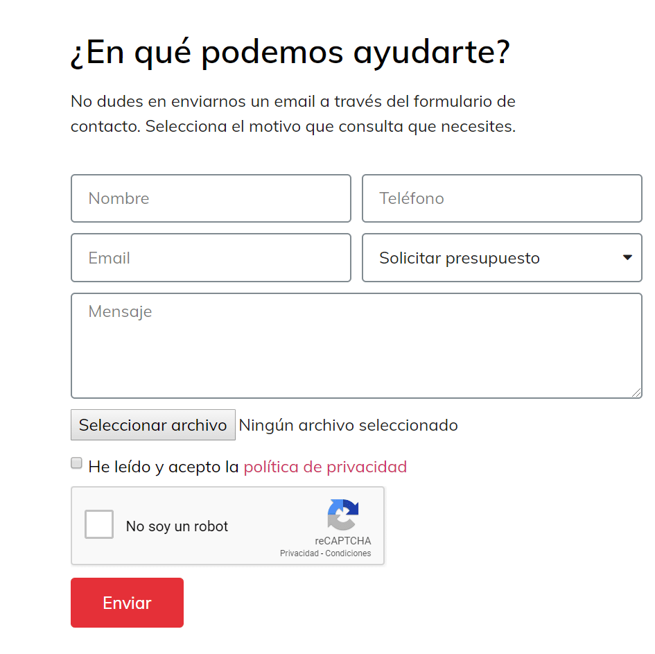 formularios dosmedia