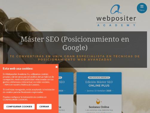 Máster SEO - Webpositer