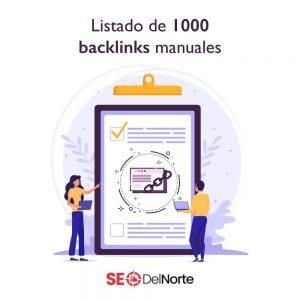 Listado de 1000 Backlinks manuales