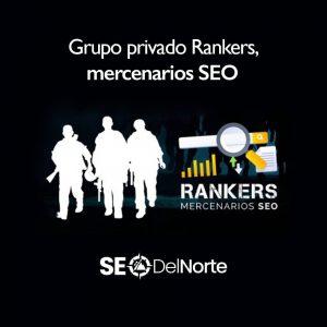 Grupo privado Rankers, mercenarios SEO