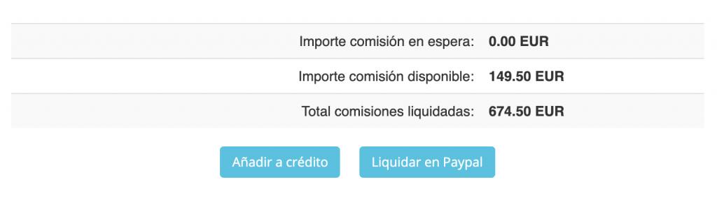 ejemplo comisiones por afiliacion de hosting